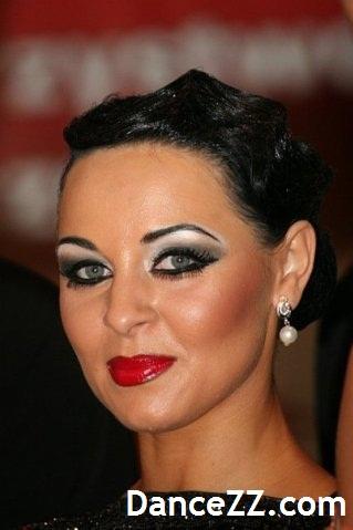 фото макияж для бальных танцев